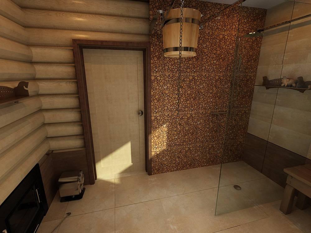 Отделка моечной в бане: варианты дизайна, руководство