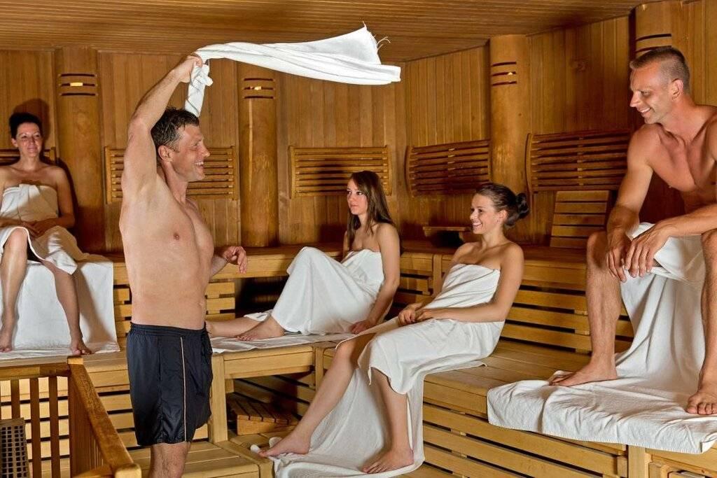 Что собой представляет баня в германии