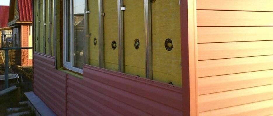 Как обшить баню снаружи вагонкой, сайдингом, профнастилом и другими материалами