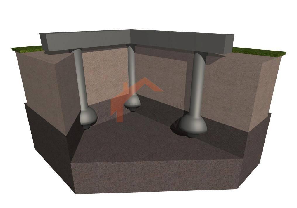 Фундамент тисэ: достоинства и недостатки технологии