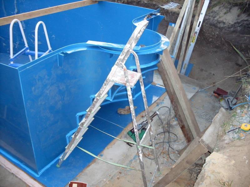 Бассейн из полипропилена своими руками: фото, видео, отзывы владельцев