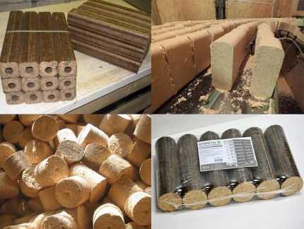 Брикеты из опилок своими руками: технология изготовления евродров, оборудование в домашних условиях
