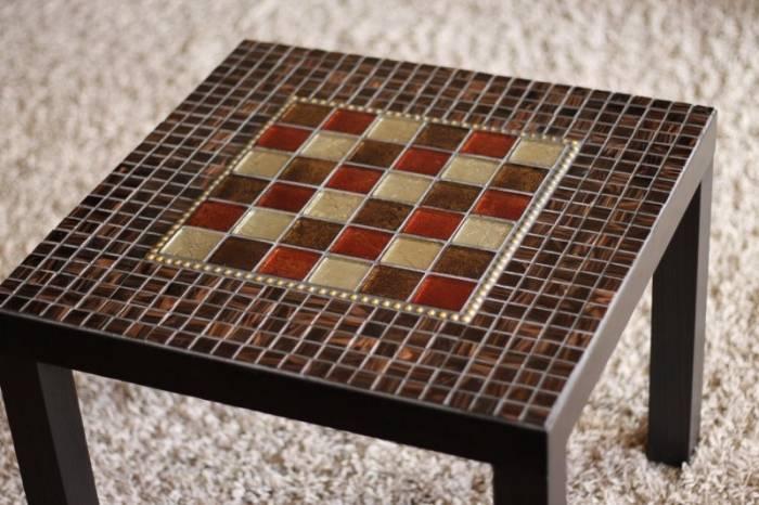 Выбираем столешницу для ванной из мозаики: дизайн, материалы и особенности укладки