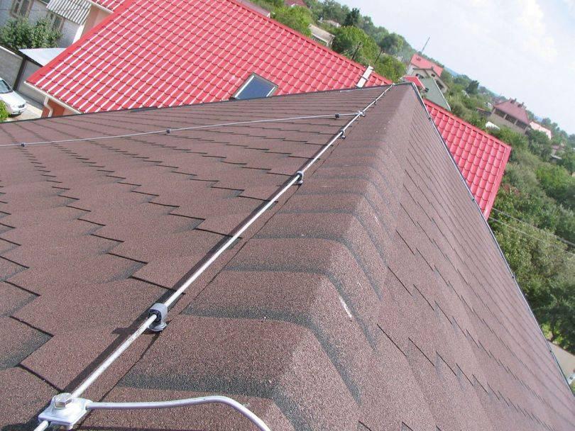 Молниезащита и заземление дома с металлической крышей