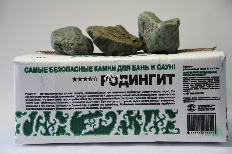 Дунит — свойства, применение для бани