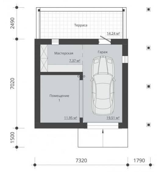 Баня с гаражом под одной крышей или еще беседка вместе, или дом с баней и гаражом - разбираем варианты, оцениваем достоинства и недостатки