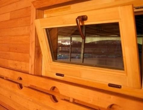 Окна в бане: в парилке и моечной, размеры, установка своими руками, изготовление обсады