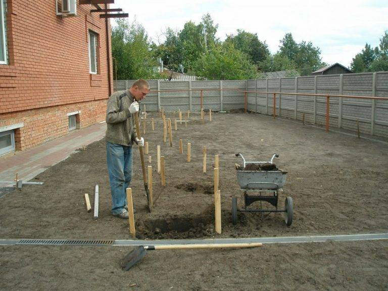 Выравнивание земельного участка: как разровнять участок земли на даче своими руками и с помощью трактора