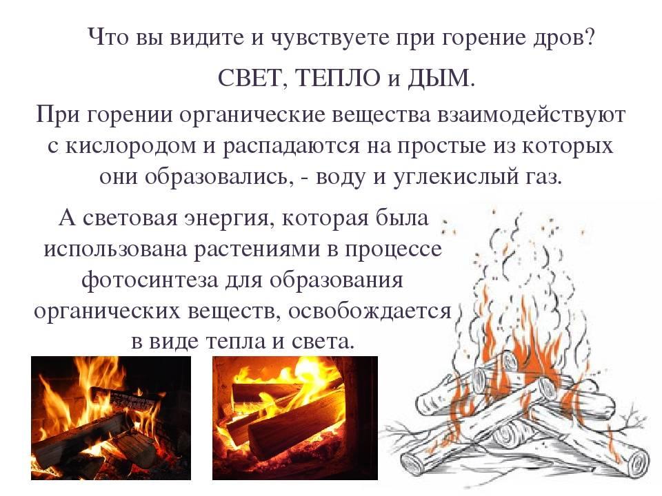 Температура в печи на дровах
