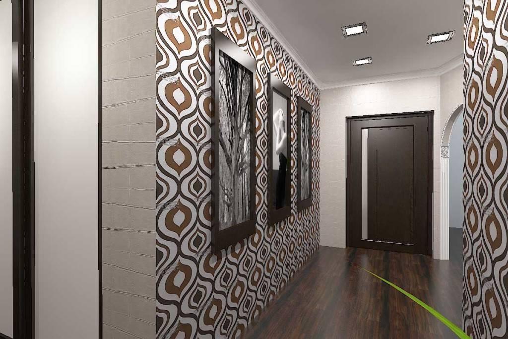 Обои для прихожей и коридора: фото, правила выбора для разных стилей и площадей