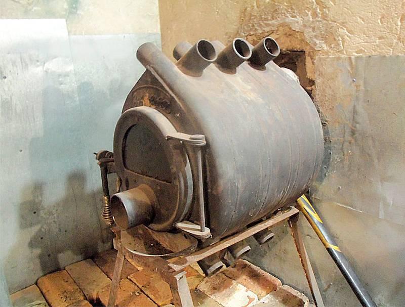 Как сделать печь бубафоня из газового баллона своими руками