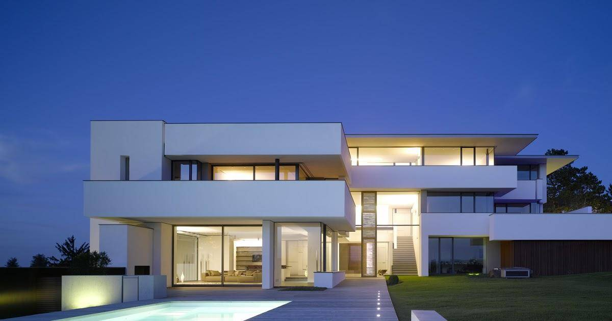 Проекты домов стиль кубизм