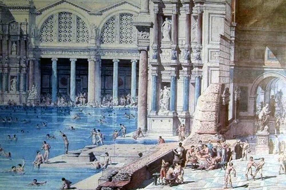 Римские термы - античные бани в древнем риме, их особенности и современные аналоги