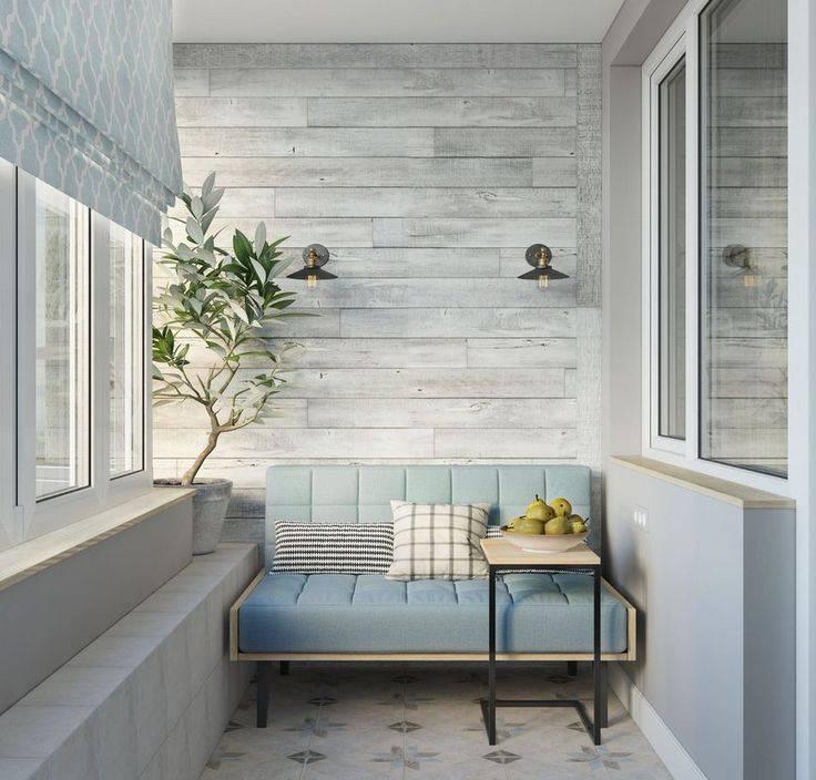Правила оформления балкона в скандинавском стиле
