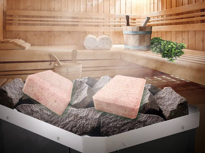 Виды и принципы выбора соляного камня для бани