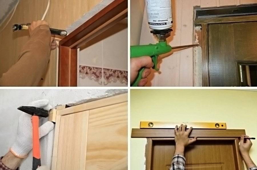 Наличники на двери: как установить своими руками