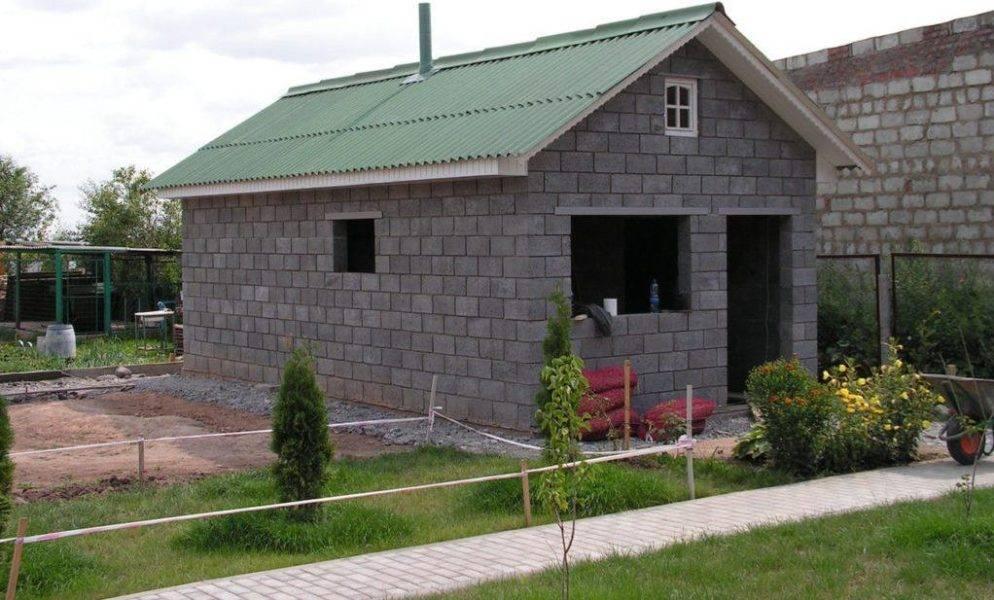 Бани из пеноблока: пошаговая инструкция к строительству