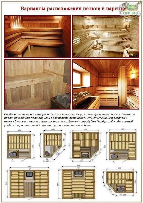 ♨ сауна в квартире: виды, описание, пошаговая инструкция и установка