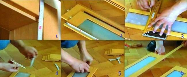 Дверь гармошка: свойства и установка данной раздвижной межкомнатной конструкции