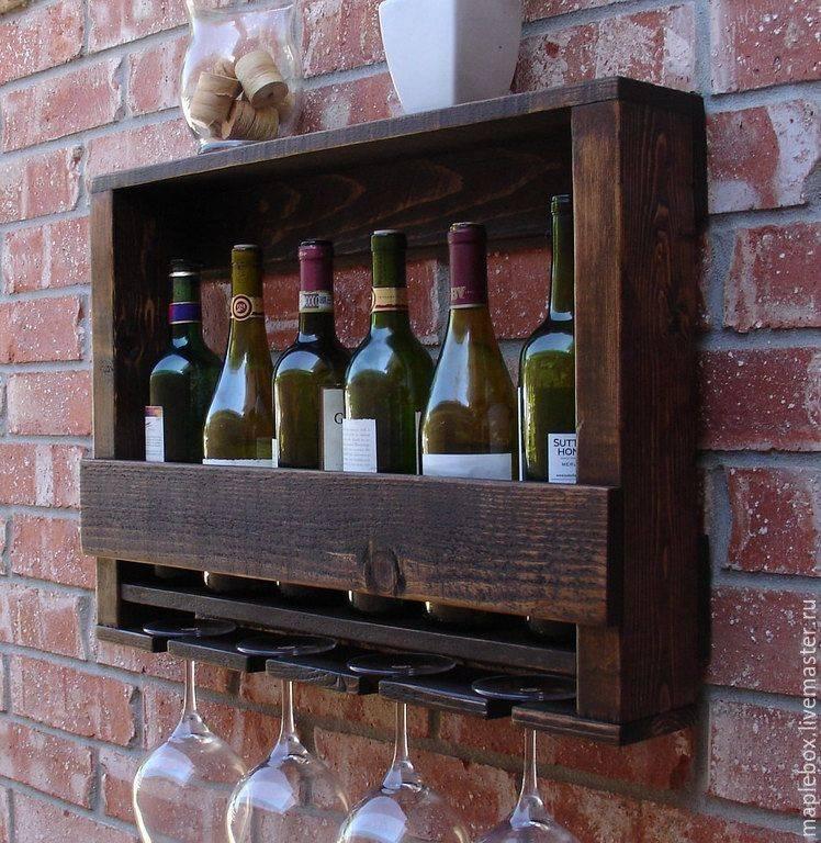 Как смастерить полки для вин: 15 шагов