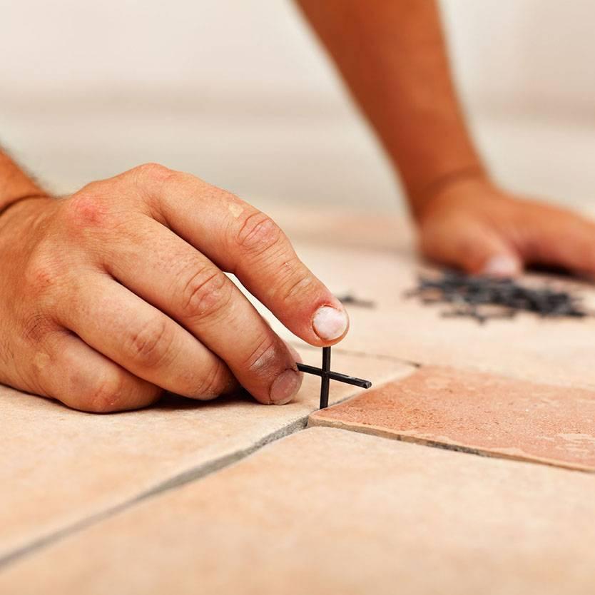 Как выбрать крестики для укладки плитки - всё о керамической плитке
