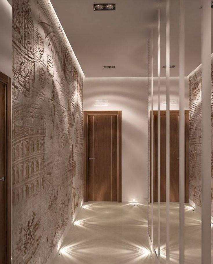 Обои для коридора и прихожей — фото идеи для квартиры