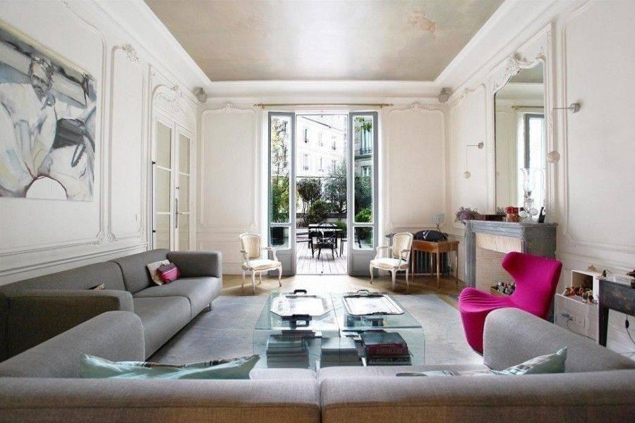 Парижская квартира 20 кв.м в современном стиле с яркими акцентами | houzz россия