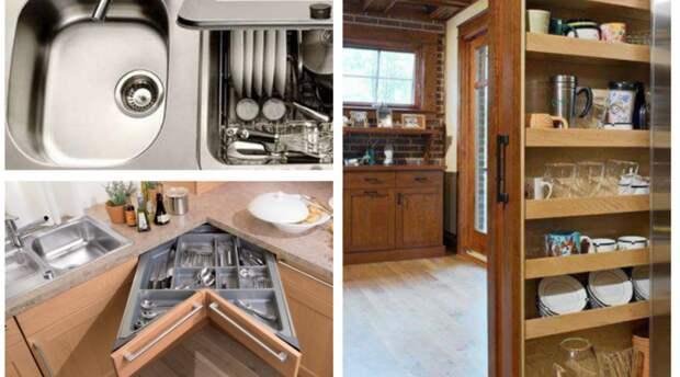 Лайфхаки для организации хранения на маленькой кухне