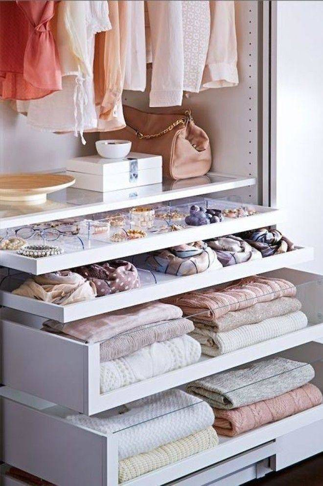 Как навести порядок в шкафу: эффективные способы и рациональные идеи