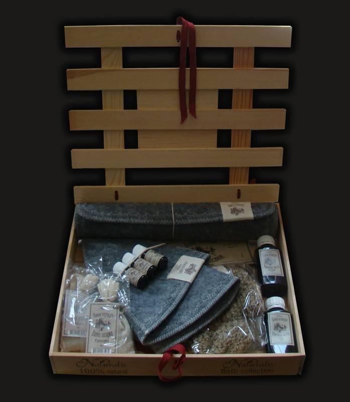 Банные наборы для мужчин в подарок