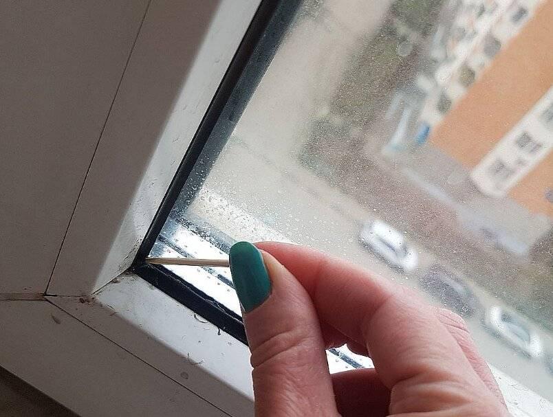Чем нужно мыть окна, чтобы они не потели?