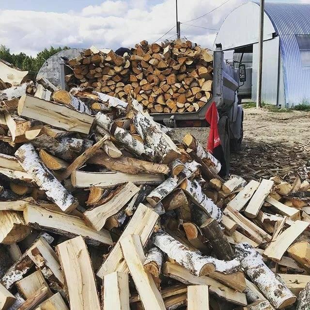 Расчет объема колотых дров. как проверить сколько кубов дров привезли на грузовой машине