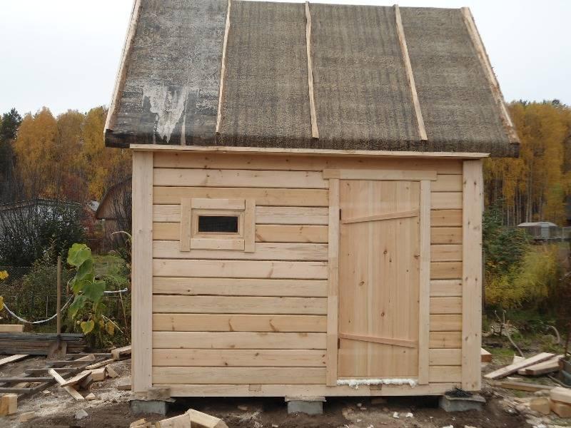 Советы по строительству летней бани на дачном участке