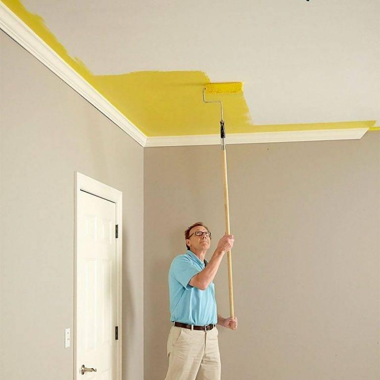 Как подготовить потолок к покраске: подробная инструкция!