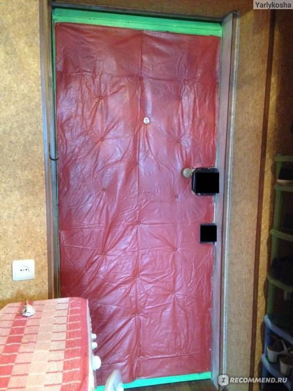 Как утеплить дверь в бане своими руками - строим баню или сауну