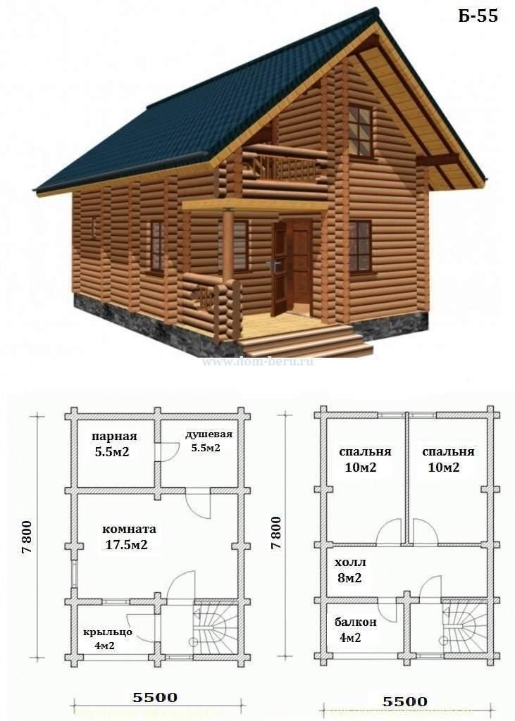 Как сделать второй этаж в частном доме под крышей: особенности постройки