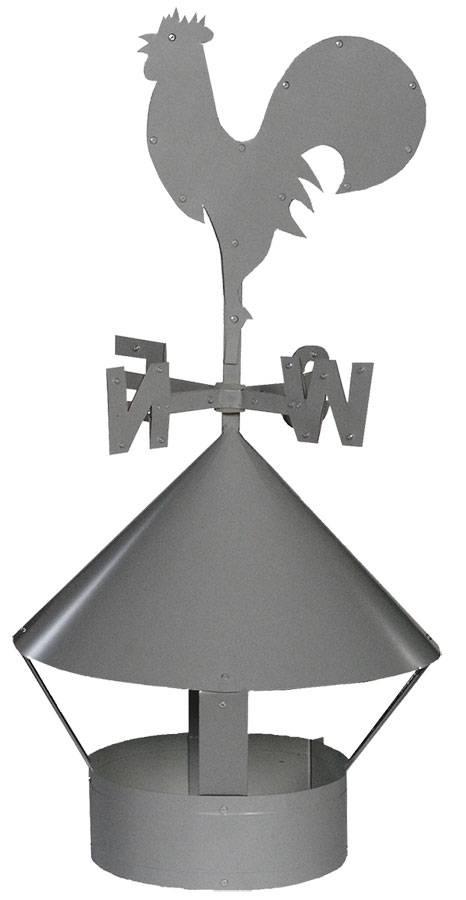 Колпак (зонт, флюгарка, дымник) на дымоход: для чего нужен и как сделать своими руками