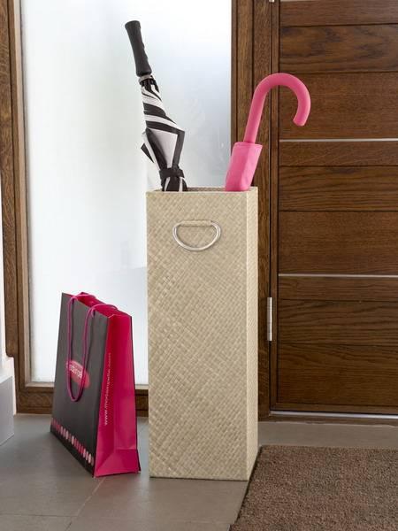 Подставки для зонтов в прихожую: корзина-зонтница, ваза, стойка и другие варианты подставок, ikea и другие держатели для хранения зонтиков