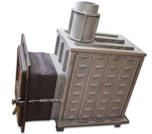 Ограниченный выбор: чугунные печи для бани с закрытой каменкой
