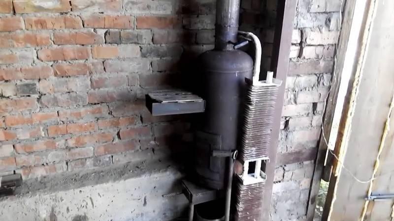 Буржуйка - экономная печка на дровах своими руками