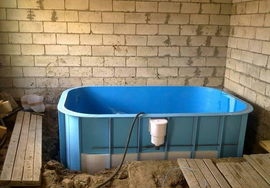 Бассейн в бане своими руками - строительство бассейнов + фото