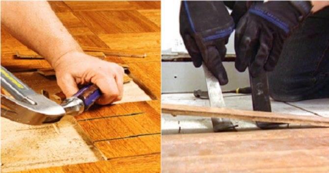 Как перестелить деревянный пол в квартире - самая подробная инструкция!