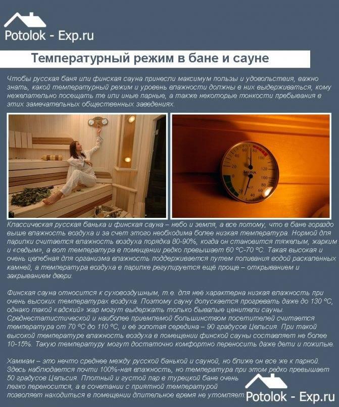 Оптимальная температура в парилке. как повысить влажность в парилке русская баня как поднять влажность