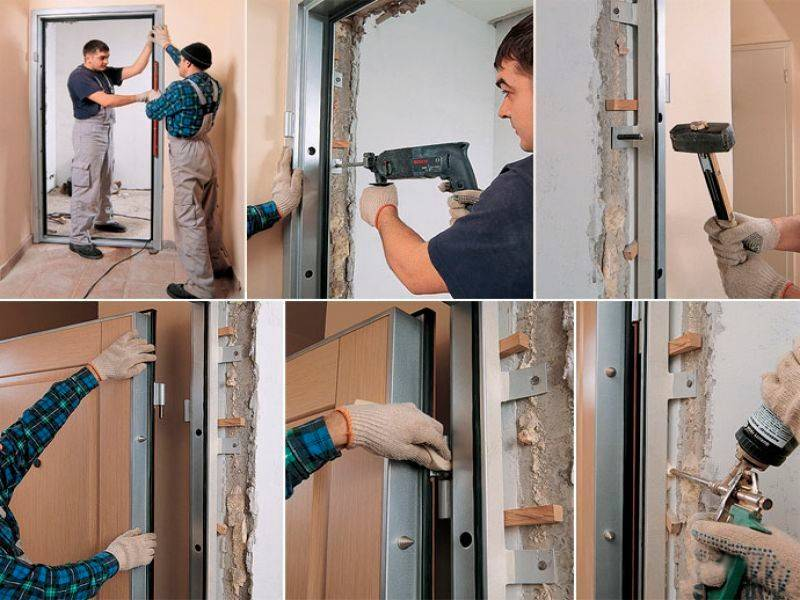 Установка межкомнатных дверей (56 фото): пошаговая инструкция монтажа, как правильно установить своими руками