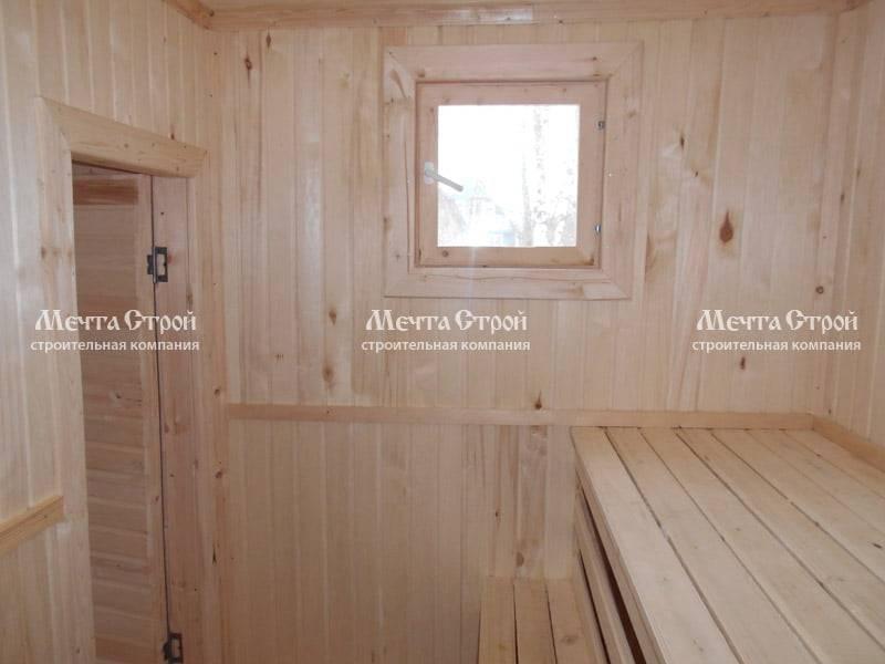 Какие окна лучше устанавливать в бане?