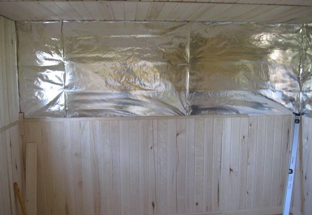 Какая алюминиевая фольга для бани лучше подойдёт