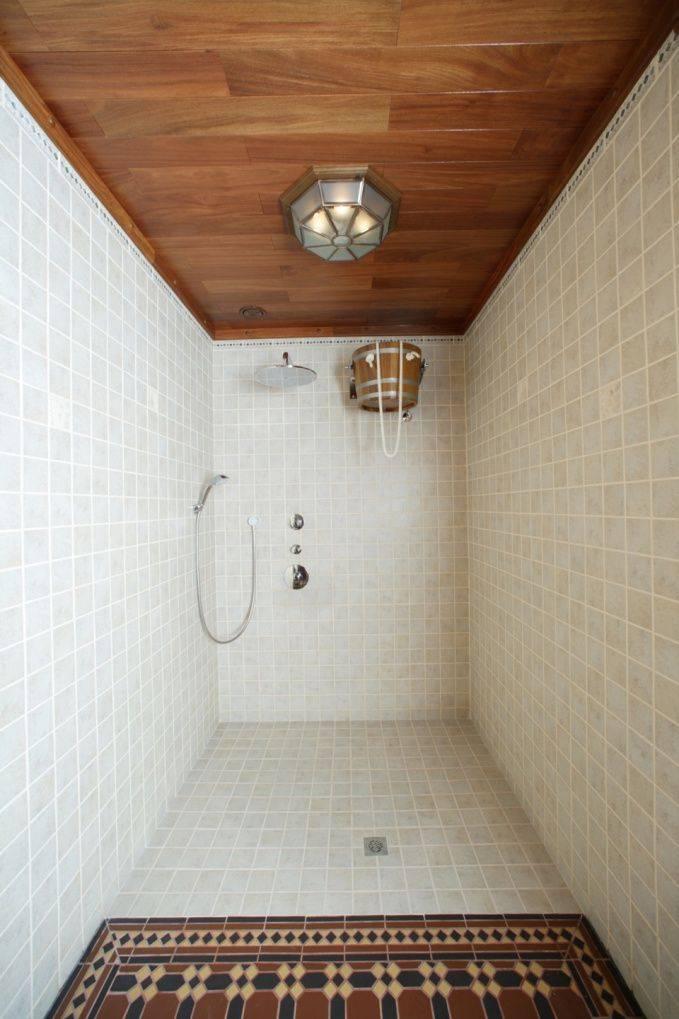 Моечная в бане — делаем быстро и просто