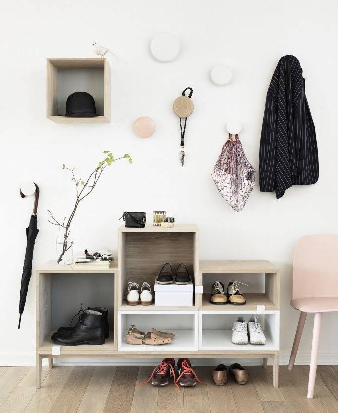 Полка в прихожую - 110 фото стильных идей оформления и дизайнерские решения