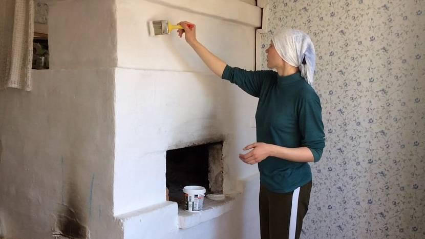 Как самому штукатурить печь, чтобы она не трескалась