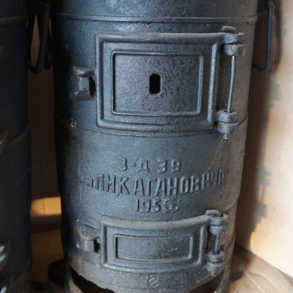 Пов-57 – чугунная печь буржуйка и особенности ее использования
